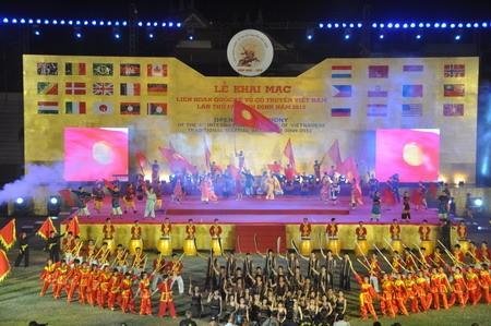 Открылся 4-й Международный фестиваль по традиционным видам единоборств Вьетнама - ảnh 1
