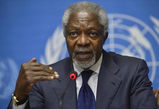 Международная общественность сожалеет об уходе Кофи Аннана в отставку - ảnh 1