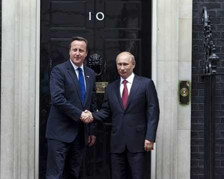 Визит Владимира Путина в Великобританию - ảnh 1