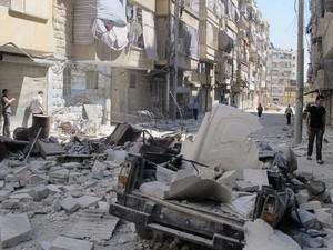Оппозиция Сирии оказывается в невыгодном положении в Алеппо - ảnh 1