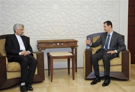 Президент Сирии Башар Асад вновь появился по телевидению - ảnh 1