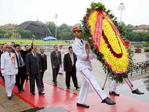 Северокорейский руководитель Ким Ен Нам успешно завершил визит во Вьетнам - ảnh 1