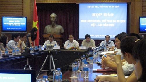 Праздник культуры, спорта и туризма в приграничном районе Вьетнама и Лаоса 2012 - ảnh 1