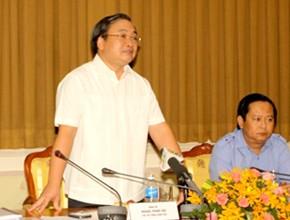 Вице-премьер Хоанг Чунг Хай провёл рабочую встречу с властями города Хошимина - ảnh 1