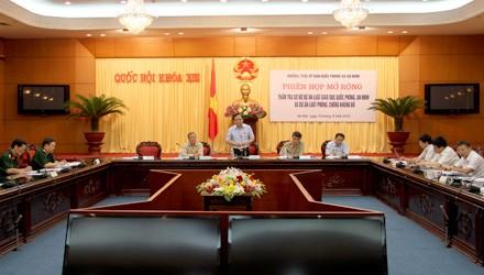 Расширенное заседание парламентской комиссии по вопросам обороны и безопасности - ảnh 1
