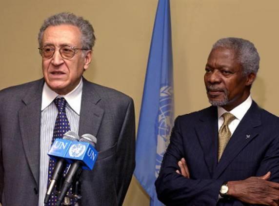 Бывший глава МИД Алжира выдвинут на пост спецпосланника ООН и ЛАГ по Сирии - ảnh 1