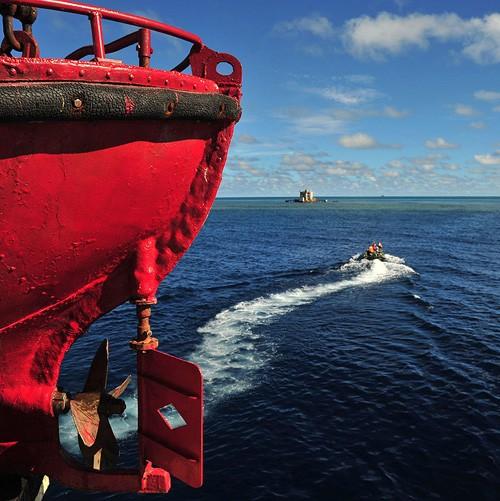 Красота архипелага Спратли в фотографиях - ảnh 9
