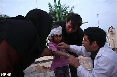 Иран прилагает большие усилия для оказания помощи жертвам землетрясений - ảnh 1