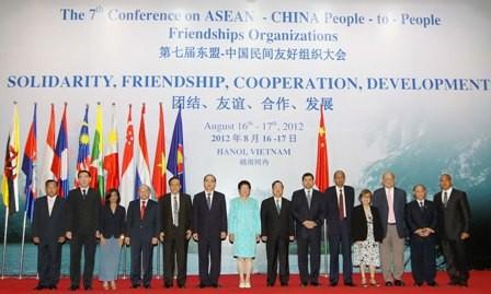 Открылась 7-я конференция организаций дружбы народов АСЕАН – Китай - ảnh 1
