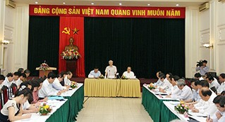 Нгуен Фу Чонг провел рабочую встречу с руководством министерства образования - ảnh 1