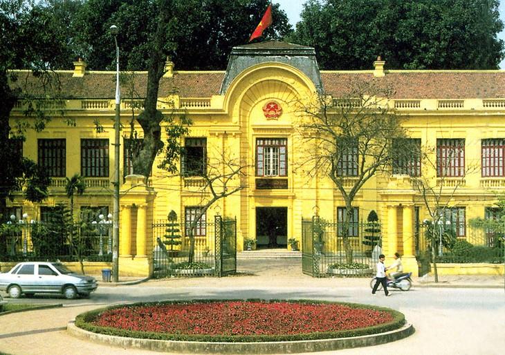 Место, где хранятся исторические экспонаты Августовской революции 1945 года - ảnh 1