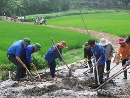 Строительство деревенских дорог в провинции Туенкуанг - ảnh 1