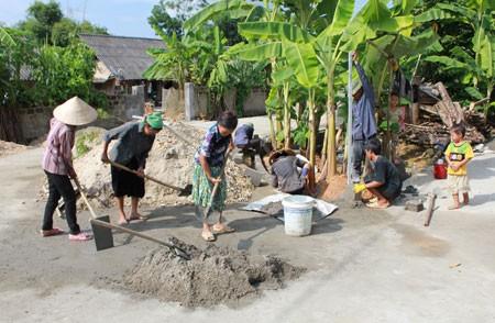 Строительство деревенских дорог в провинции Туенкуанг - ảnh 2