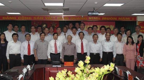 Нгуен Фу Чонг провел рабочую встречу с представителями парткома органов... - ảnh 1
