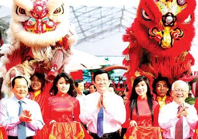 Чыонг Тан Шанг принял участие в церемонии завершения проекта улучшения канала... - ảnh 1