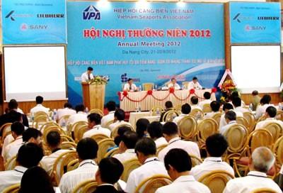 Ежегодная конференция Ассоциации вьетнамских морских портов - ảnh 1