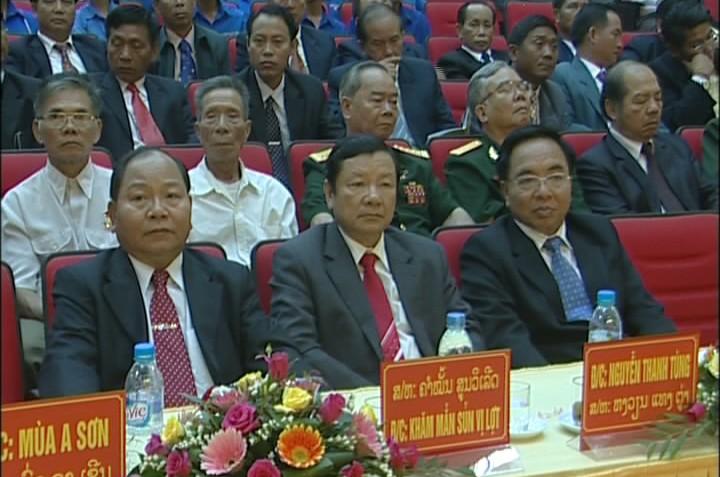 Отмечается 50-летие со дня установления дипотношений между Вьетнамом и Лаосом - ảnh 1