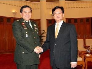Нгуен Тан Зунг принял делегацию командования силами обороны Таиланда - ảnh 1