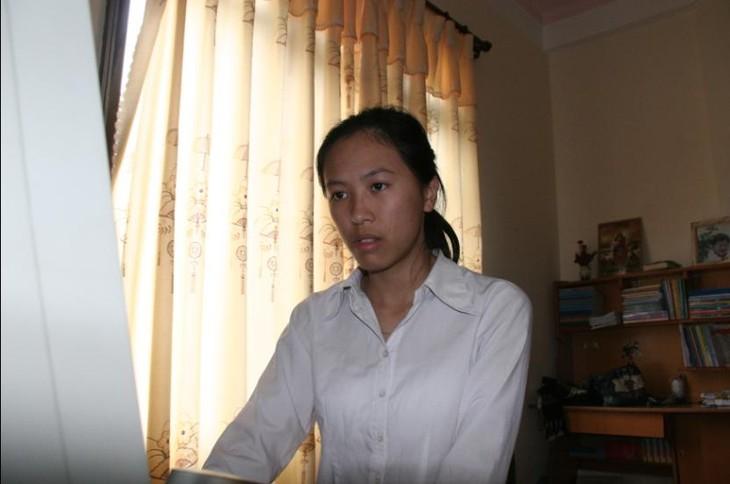 Первый лауреат вступительного экзамена в ВУЗ Нгуен Ким Фыонг - ảnh 1
