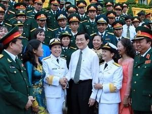 Чыонг Тан Шанг встретился с лучшими представителями профсоюза министерства... - ảnh 1