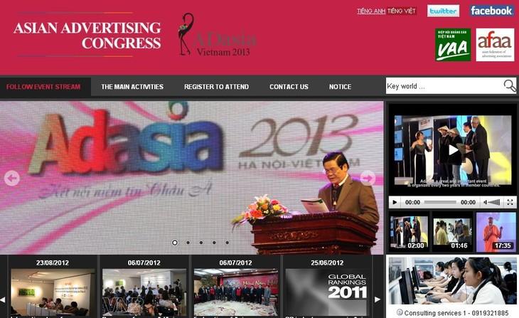 Церемония презентации сайта 28-го азиатского рекламного конгресса - ảnh 1