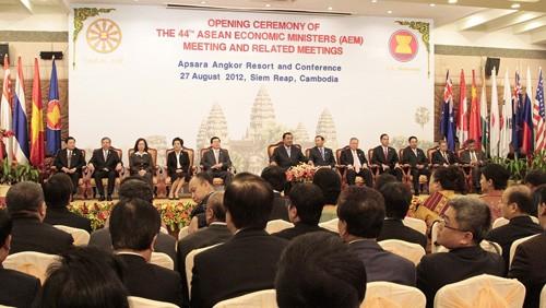 Открылось 44-ое Совещание министров экономики стран АСЕАН - ảnh 1