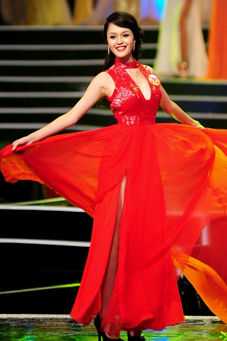 Финал конкурса «Мисс Вьетнам 2012» - ảnh 9