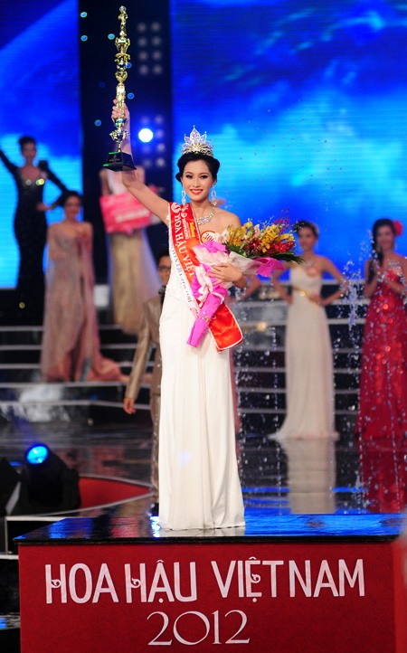 Финал конкурса «Мисс Вьетнам 2012» - ảnh 14