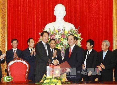 Министр общественной безопасности СРВ принял сингапурскую высшую делегацию - ảnh 1