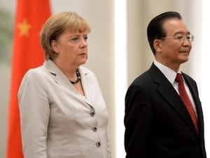 Канцлер ФРГ Ангела Меркель посещает Китай с официальным визитом - ảnh 1