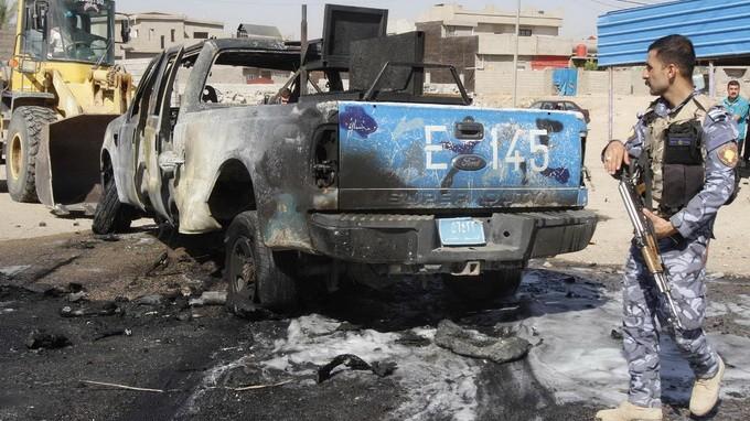 В Ираке в результате взрывов погибло и ранено множество людей - ảnh 1