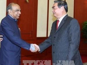 Усиление отношений народной дипломатии между Вьетнамом и Индией - ảnh 1