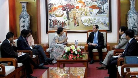 Расширение сотрудничества между Вьетнамом и Индией - ảnh 1