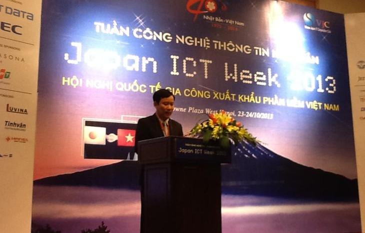 Во Вьетнаме открылась Неделя информационных технологий Японии-2013 - ảnh 1
