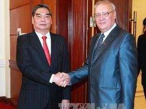 Делегация Компартии Украины находится во Вьетнаме с визитом - ảnh 1