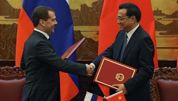 Россия и Китай подписали 21 документ о двустороннем сотрудничестве - ảnh 1