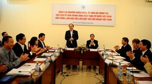 Развитие роли вьетнамских интелигентов в области науки и технологий - ảnh 1