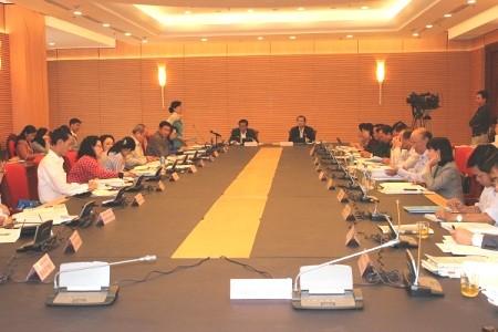 Парламент СРВ обсуждает вариант распределения госбюджета на 2014 год - ảnh 1