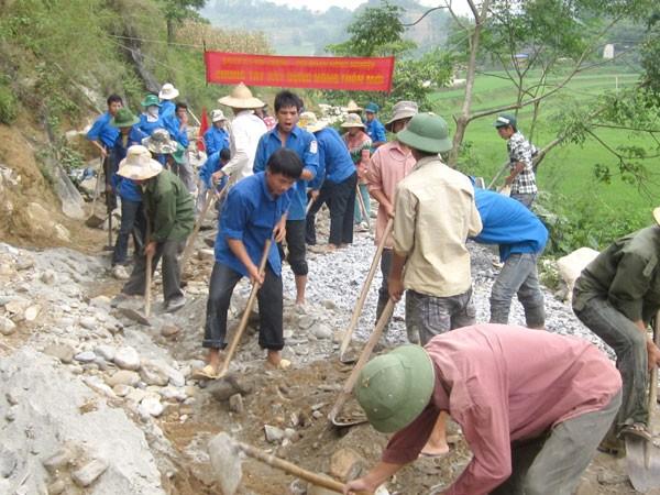 Строительство новой деревни в общине Шинченг провинции Лаокай - ảnh 1