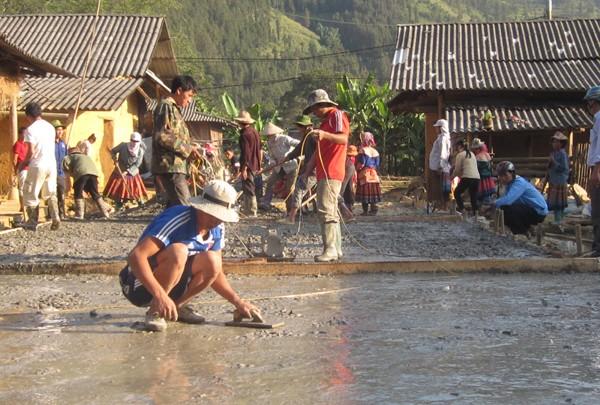 Строительство новой деревни в общине Шинченг провинции Лаокай - ảnh 3