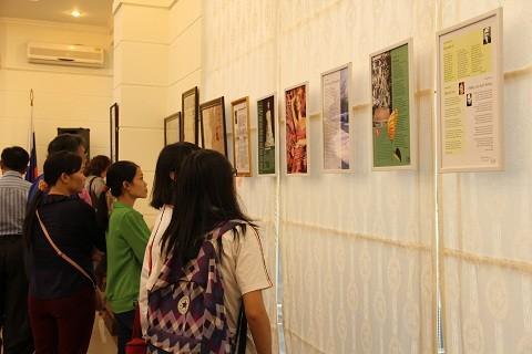 В Ханое открылась вьетнамско-русская выставка «Слово любви и благодарности» - ảnh 1