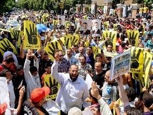 Тысячи исламистов провели демонстрации по всему Египту - ảnh 1