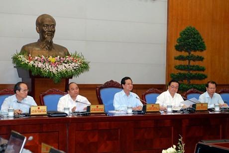В Ханое прошло очередное октябрьское заседание вьетнамского правительства - ảnh 1