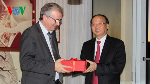Расширение сотрудничества между Компартиями Вьетнама и Франции - ảnh 2