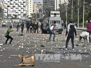 Демонстрации египетских студентов в поддержку Мурси приобрели крупные масштабы - ảnh 1