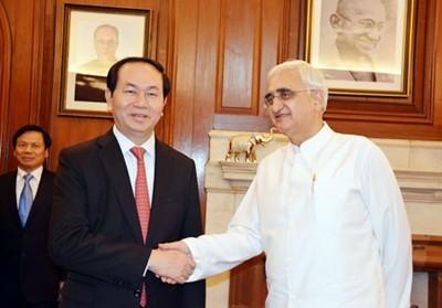 Активизация отношений дружбы и стратегического партнерства между Вьетнамом и Индией - ảnh 1
