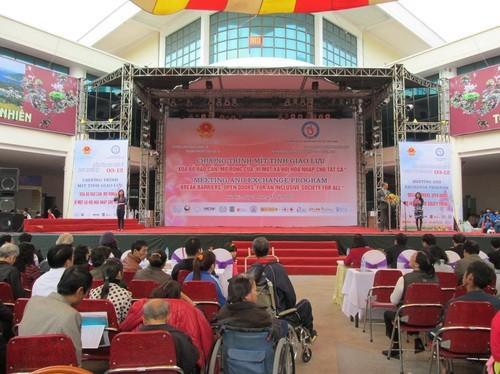 В Ханое прошёл митинг, посвященный Международному Дню инвалидов - ảnh 1