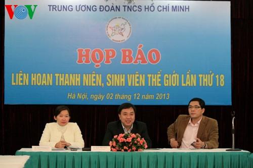 Вьетнам примет участие во Всемирном фестивале молодёжи и студентов - ảnh 1