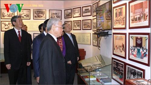 Генсек ЦК КПВ принял участие в праздновании 60-летия АОН Вьетнама - ảnh 2