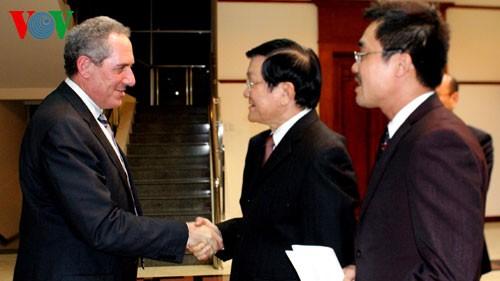 Президент СРВ: ТТП откроет новые возможности для сотрудничества между Вьетнамом и США - ảnh 1